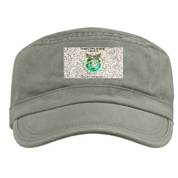 PSD17 - A01 - 01 - Personnel Support Detachment 17 with Text - Military Cap