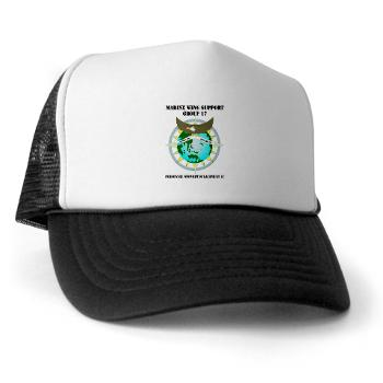 PSD17 - A01 - 02 - Personnel Support Detachment 17 with Text - Trucker Hat