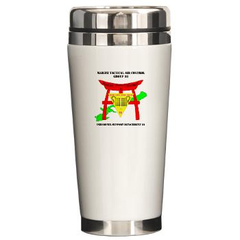 PSD18 - M01 - 03 - Personnel Support Detachment 18 with Text Ceramic Travel Mug