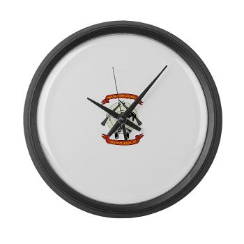 SB - M01 - 03 - Stone Bay - Large Wall Clock