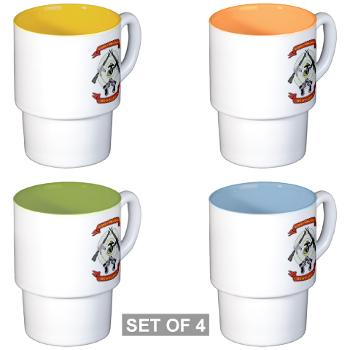 SB - M01 - 03 - Stone Bay - Stackable Mug Set (4 mugs)