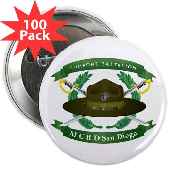 "SB - M01 - 01 - Support Battalion - 2.25"" Button (100 pack)"