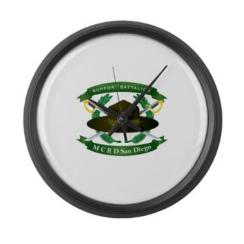 SB - M01 - 03 - Support Battalion - Large Wall Clock