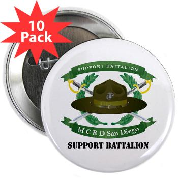 "SB - M01 - 01 - Support Battalion - 2.25"" Button (10 pack)"