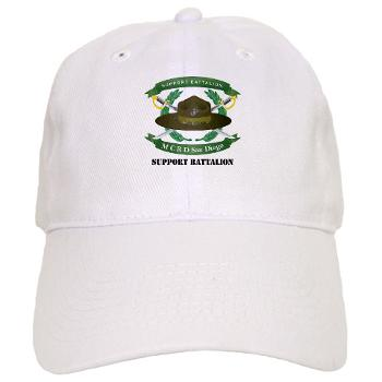 SB - A01 - 01 - Support Battalion with Text - Cap