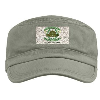 SB - A01 - 01 - Support Battalion with Text - Military Cap