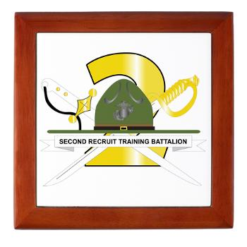 SRTB - M01 - 03 - Second Recruit Training Battalion - Keepsake Box