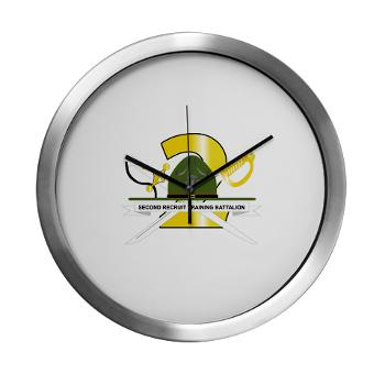 SRTB - M01 - 03 - Second Recruit Training Battalion - Modern Wall Clock