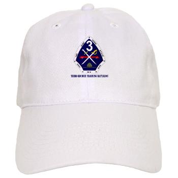TRTB - A01 - 01 - Third Recruit Training Battalion with Text - Cap