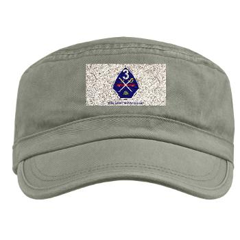TRTB - A01 - 01 - Third Recruit Training Battalion with Text - Military Cap