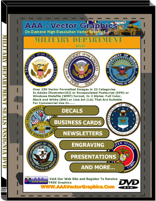 Military Department Seals Insignia DVD Collection