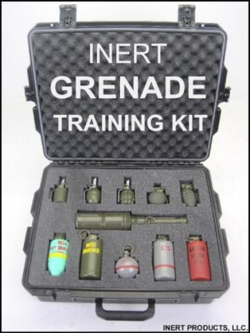Grenade Training Kit - With STORM Case