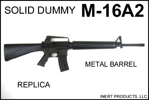 Inert, Replica M-16A2 Solid Dummy Training Rifle