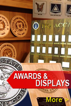Marine Corps Training Support Awards and Displays